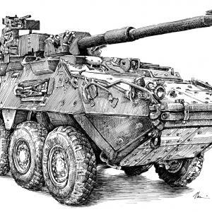 M1128 Stryker MGS