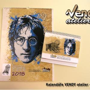 Kalendář VENDY atelier 2018