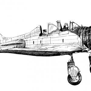 Palubní stíhací letoun druhé světové války A5M4-K