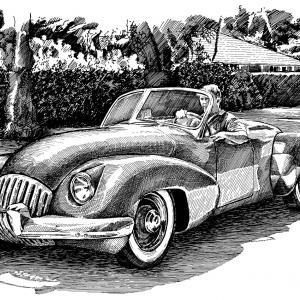 KURTIS OMOHUNDRO COMET CLASSIC DRIVE - 1947