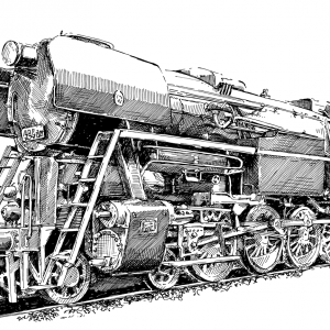Parní lokomotiva řady 464.202 - Rosnička