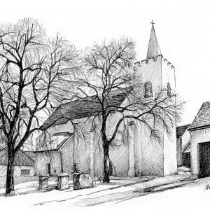Dolní Dubňany - kostel sv. Václava