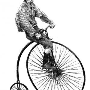 Velocipedista - cyklista