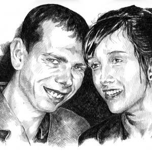 Portrét - svatební dar
