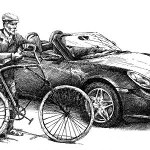 Porsche a staré časy...