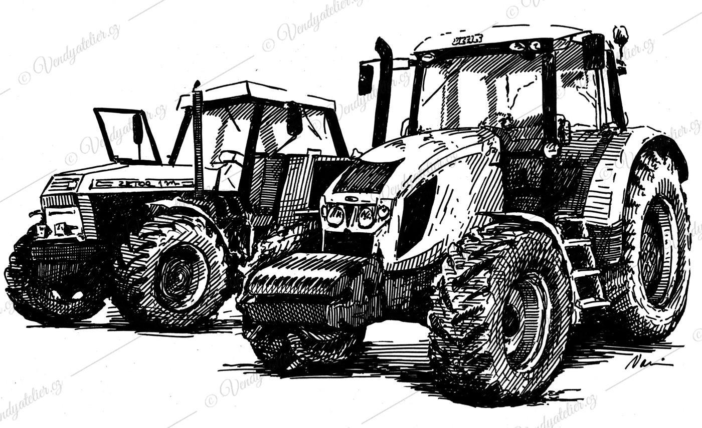Zetor 12140 A Zetor Forterra 140 Hsx Vendy Atelier