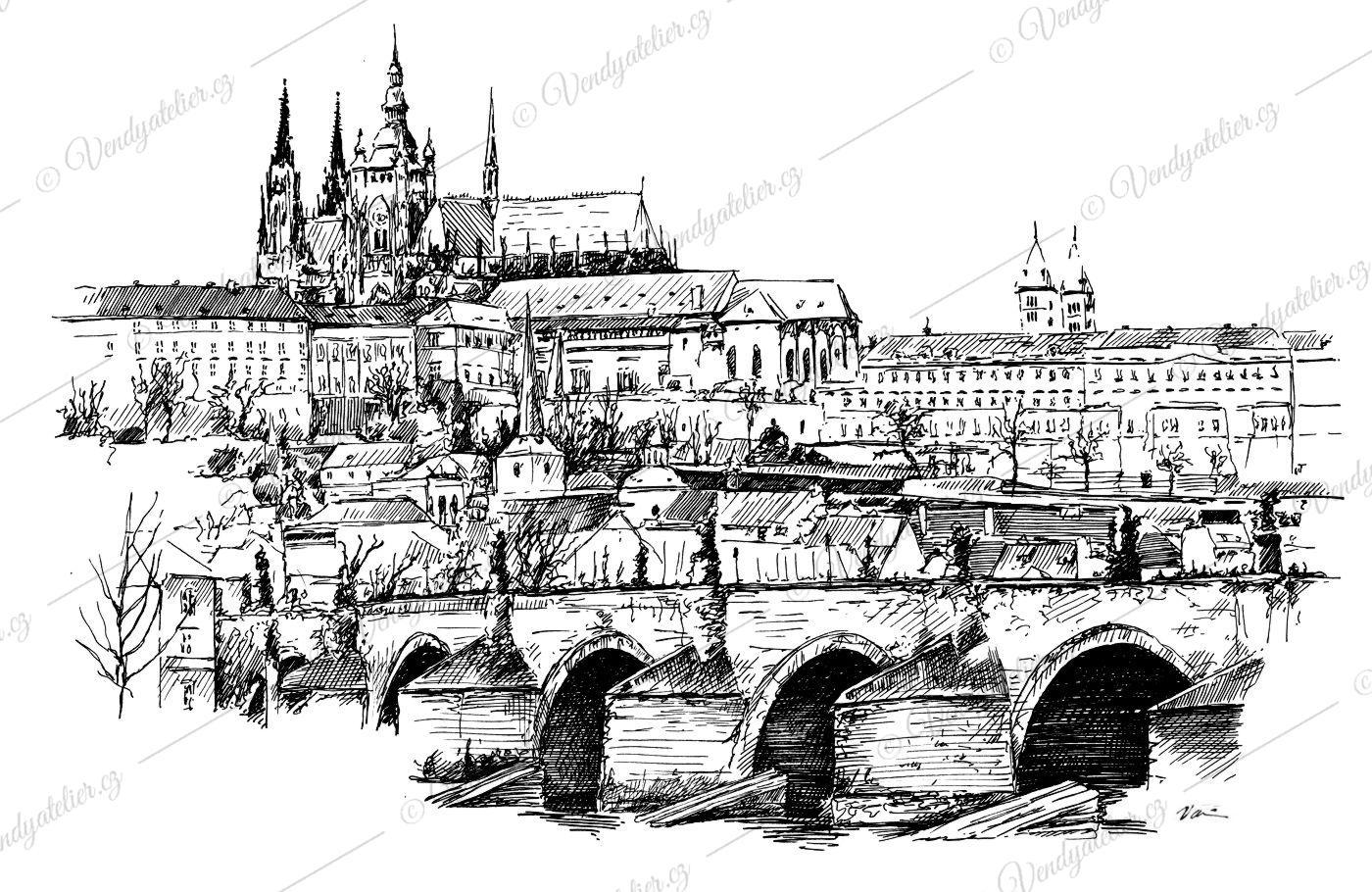Praha Prazsky Hrad Karluv Most Vendy Atelier