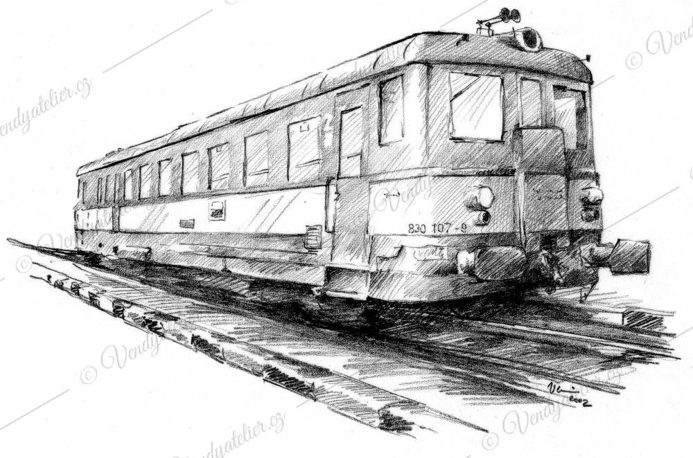 Motorovy Vlak Vendy Atelier