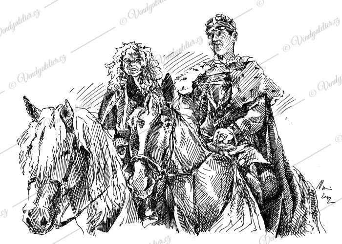Barchan, Jemnice, historická slavnost