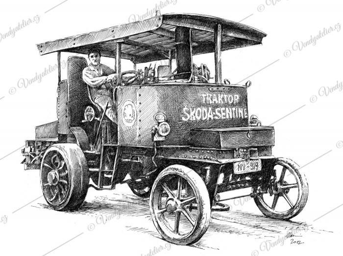 Škoda Sentinel - 1925