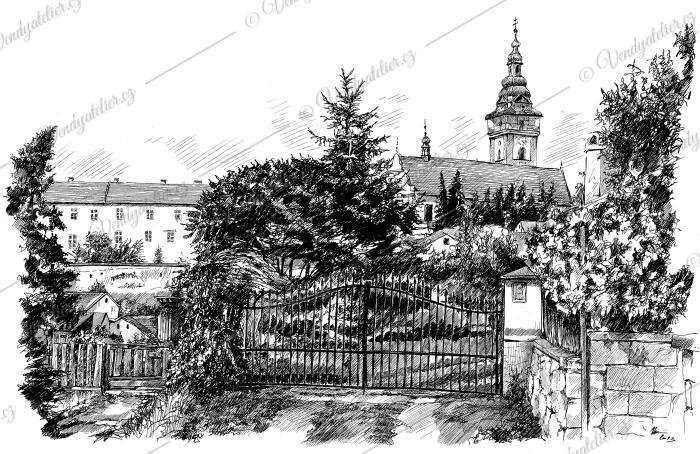 Moravské Budějovice, ulice Větrná