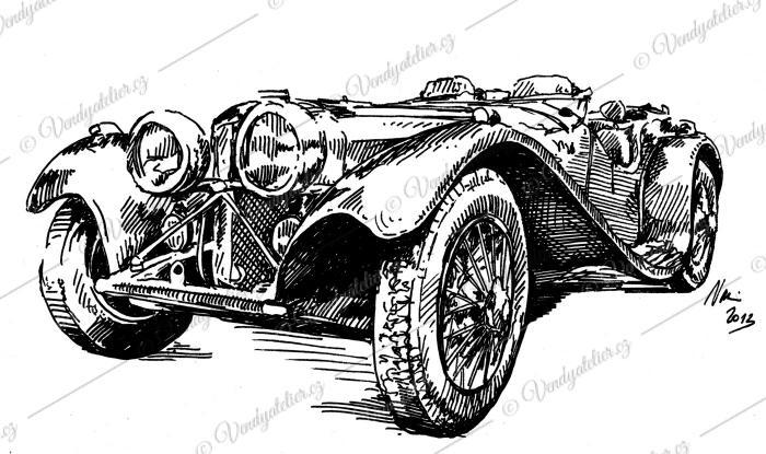 Jaguar SS100