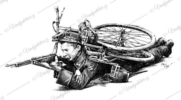 Bicykl za první světové války