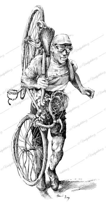 Victor Fontan, cyklista