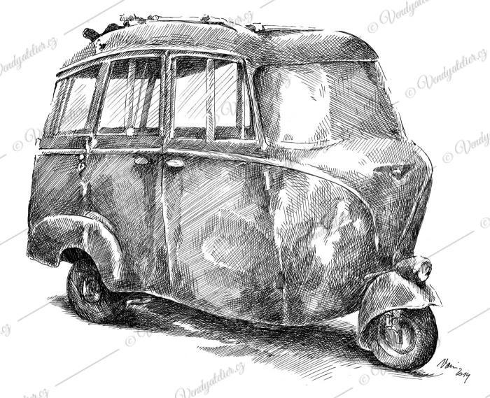 Piaggio Ape - lehký užitkový automobil