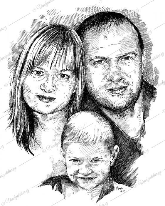 Portrét rodiny