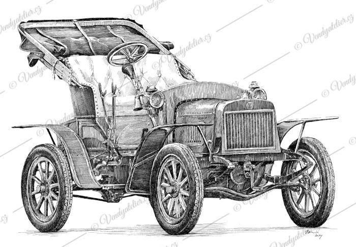 Laurin & Klement Voituretta A - rok 1906