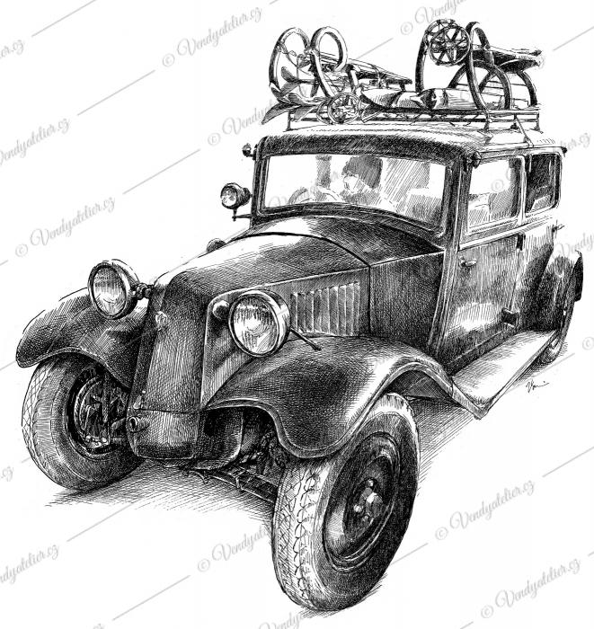 Tatra 54, rok výroby 1931