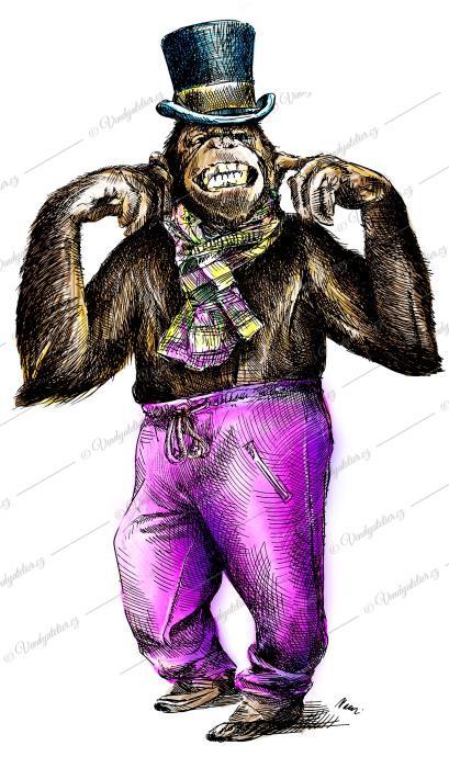 Frajer opičák
