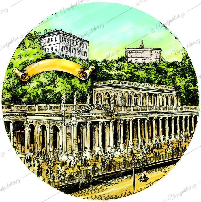 Karlovy Vary - kolonáda