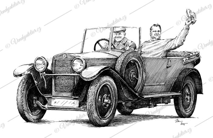 Z 18 - Zbrojovka Brno - Roadster z r. 1927