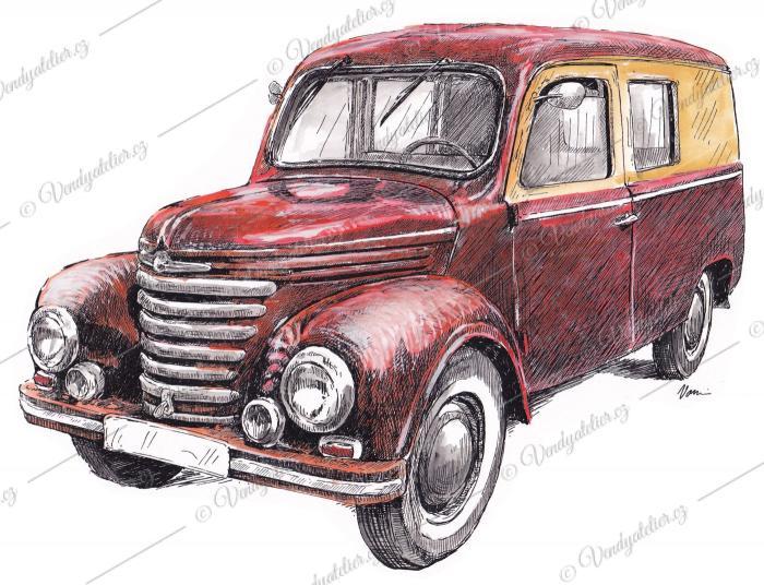 Barkas Framo V901/2 Kastenwagen