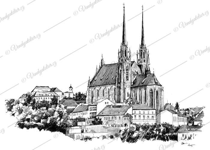 Katedrála svatého Petra a Pavla (zkráceně Petrov)
