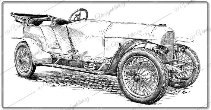 1910 AD Prinz Heinrich Wagen