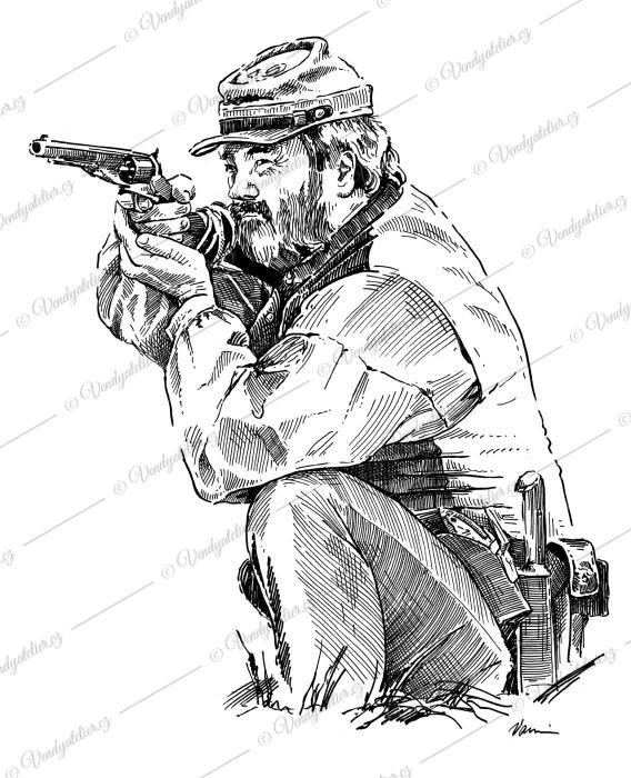 Konfederační voják