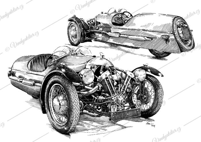 Morgan Super Sports r. 1934