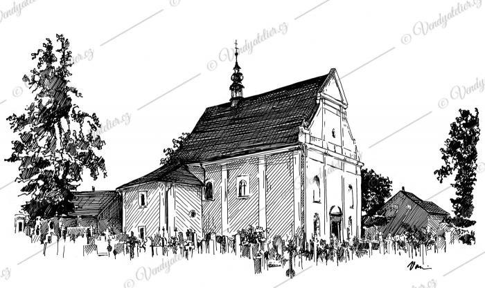 Kostel svaté Anny - Telč