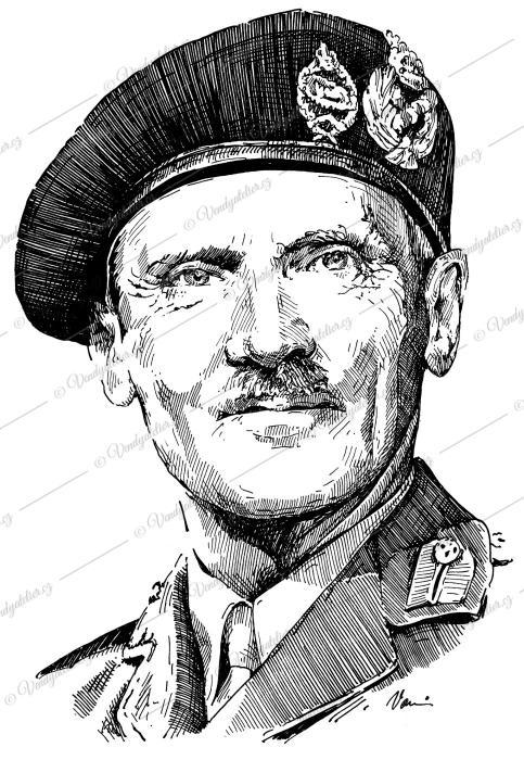 Bernard L Montgomery