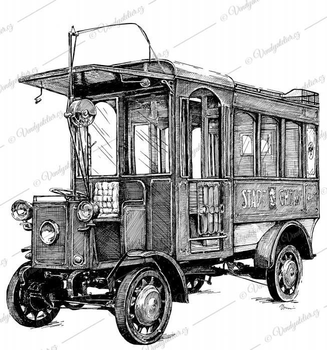 Trolejbus Mercedes-electrique-Stoll Gmünd