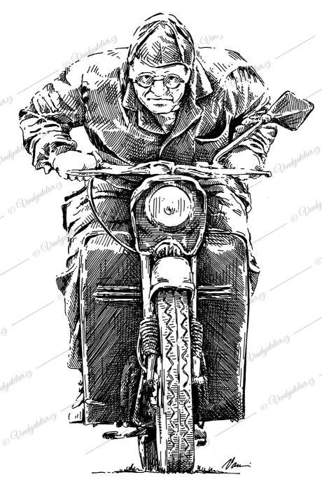 Jawa pionýr - fichtl