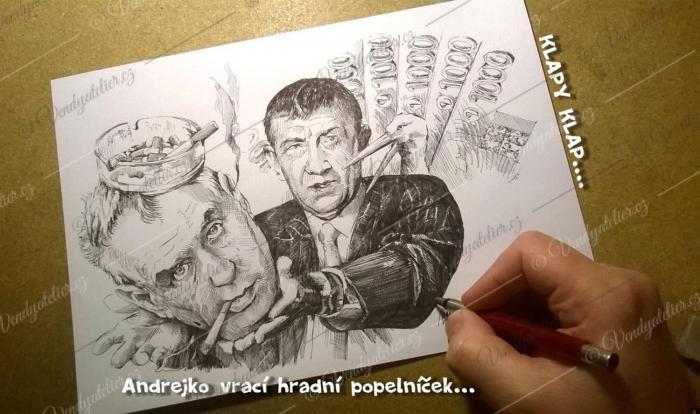Babiš - Zeman