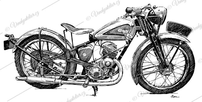 Ogar 250 Standard (1937-1939)