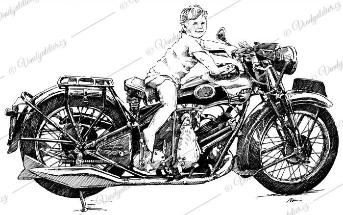 Ariel motocykl