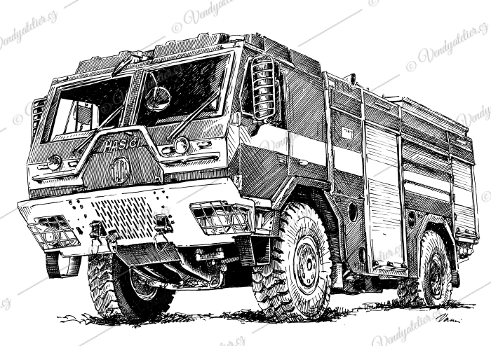CAS 30 Tatra 815-7 4x4