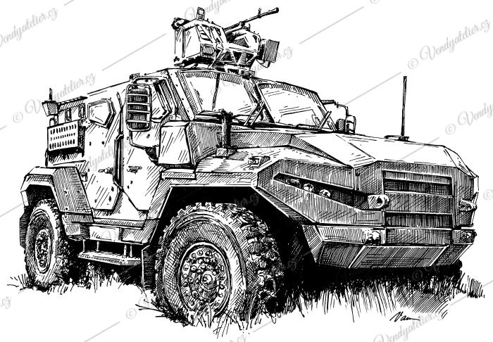 Tatra Husar - Patriot 4x4 Tractial APC