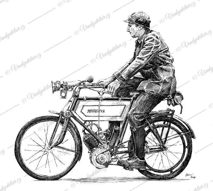 Motocykl Minerva