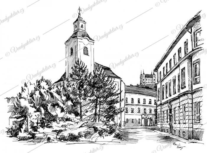 sv. Bartoloměj - Moravský Krumlov