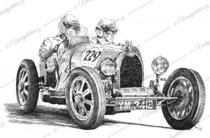 Bugatti Type 35 - 1925