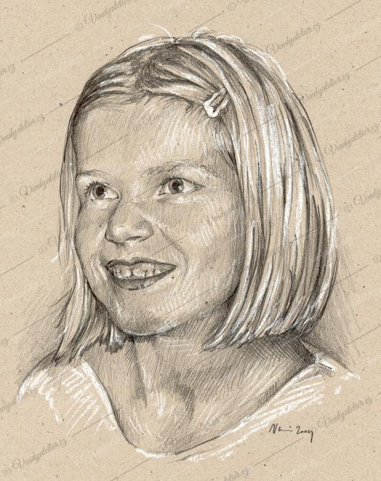 Kristýnka Foltýnová - portrét