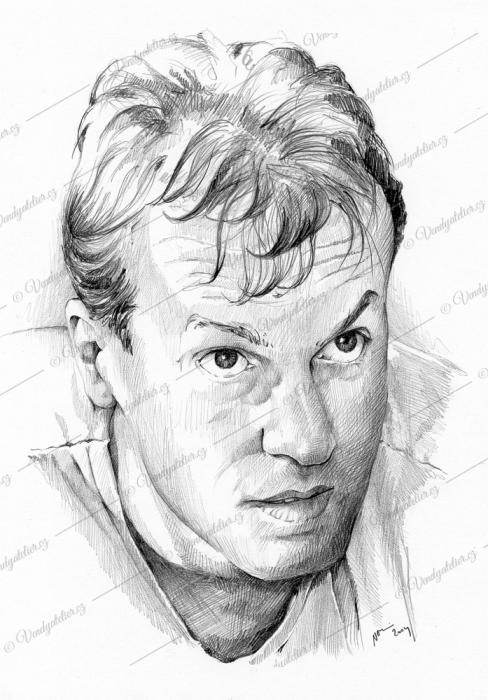 Vítek  - portrét tužkou