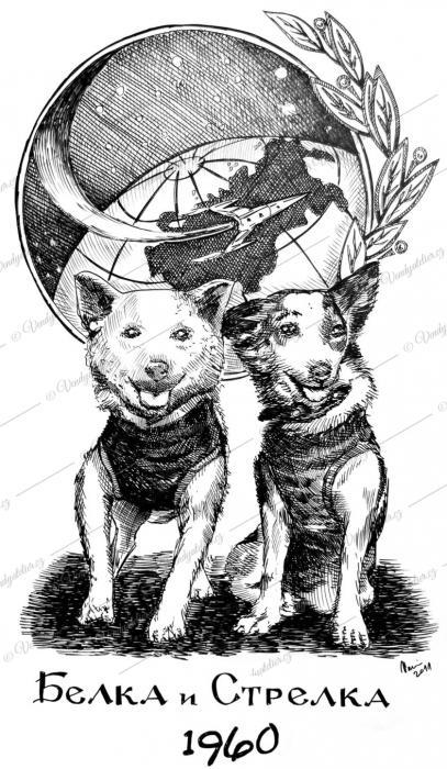 Bělka a Strelka