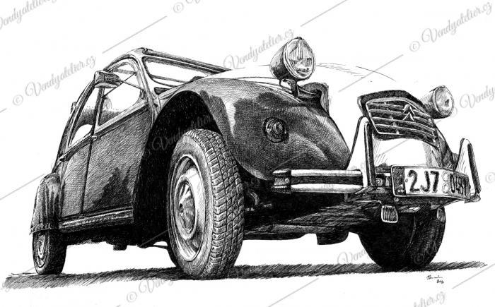 Kachna - Citroën