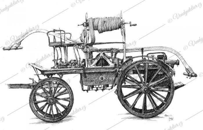 Hasičská koňka