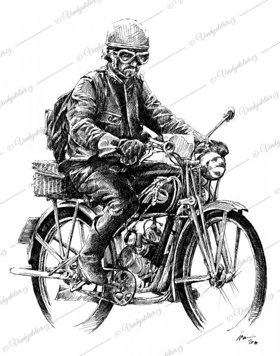 Motorkář - veterán