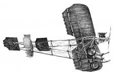 Aeroplán - perokresba