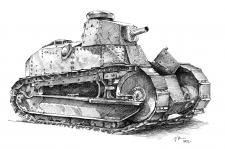 Renault Light Tank - 1918